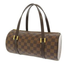 LOUIS VUITTON Papillon 26 Damier Canvas Ebene N51304 LV Bag Handbag France - $467.50