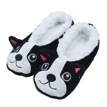 Women Home Slippers Cartoon Puppy Warm Soft Wool Indoor Footwear Accesso... - $9.99