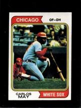 1974 TOPPS #195 CARLOS MAY EX WHITE SOX  *X7044 - $0.99