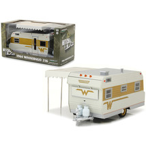 1964 Winnebago 216 Travel Trailer for 1/24 Scale Model Cars and Trucks 1/24 Diec - $45.30