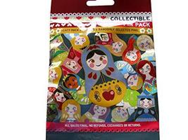 Disney Nesting Dolls 5 Pin Collectible Packs NEW - $28.69