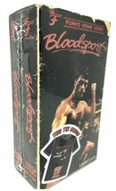 Men's Blood Sport Funko Home Video VHS Boxed Short Sleeve Tee Exclusive NIB image 2
