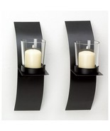 Mod-art Candle Sconce Duo - $8.50