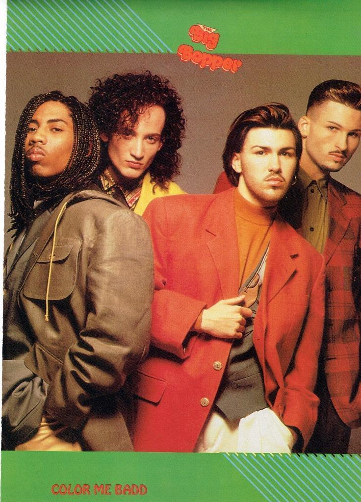 Color Me Badd teen magazine pinup clippings Bop Tiger Beat Teen Beat