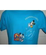 Vintage 90s Disney Minnie Mickey Mouse 50s Theme Pennsylvania T-Shirt Me... - $29.99