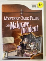 Mystery Case Files The Malgrave Incident for Nintendo Wii Complete with ... - $12.86