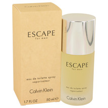 Escape By Calvin Klein Eau De Toilette Spray 1.7 Oz For Men - $22.37
