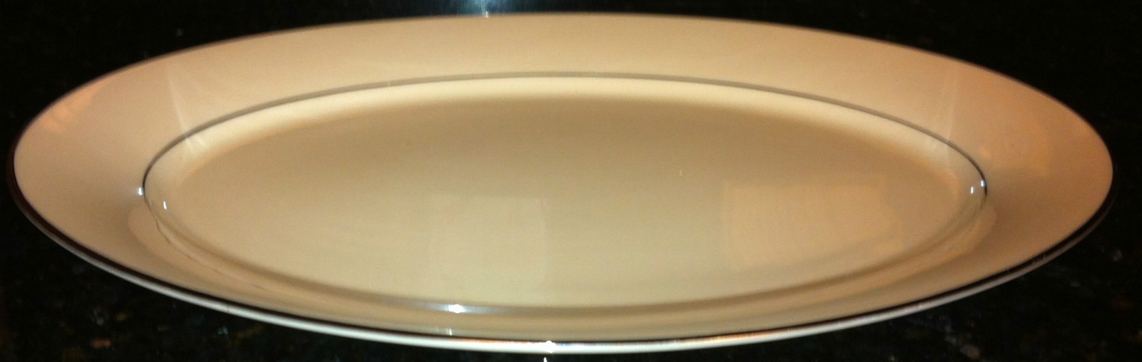 "13.5"" Platter in Maywood Pattern by Lenox Cosmopolitan Collection NWT"