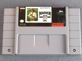 Madden NFL 94 (Super Nintendo Entertainment System, 1993) SNES - $3.24