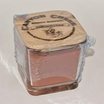 New Canyon Creek Candle Company 9oz Cube Jar Cranberry Orange Handmade - $23.94