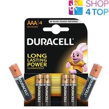 4 + 2 Free Duracell Duralock Aaa Alkaline LR03 Batteries 1.5V Micro MN2400 E92 - $5.93