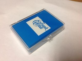 Gemaco Royal Poker Playing Cards Frank Hall Free Ship Excellent Blue - $8.59