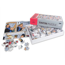 Tintin Sparadrap 500 pieces puzzle with poster 50x75 cm NEW & SEALED image 2