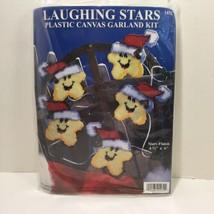 "Laughing Stars Plastic Canvas Garland Kit Design Works 4.5"" x 6"" - $12.59"