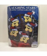 "Laughing Stars Plastic Canvas Garland Kit Design Works 4.5"" x 6"" - $12.59"