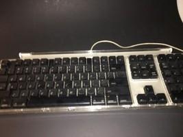 Apple Pro USB Keyboard M7803 Black Gray Mac Macintosh - $17.82