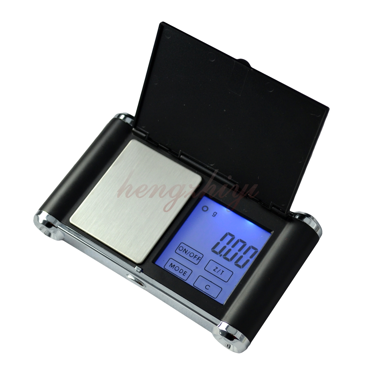 500g x 0.1g Touch Screen Digital Pocket Jewelry Carat Scale Balance w Counting