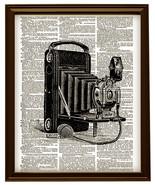 Antique Kodak CAMERA Beautiful Upcycled Vintage Dictionary Art Print No.... - $12.00