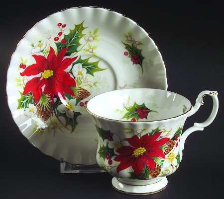 Royal Albert Christmas YuleTide Tea Cup and Saucer Etsy