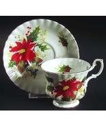 Royal Albert Christmas YuleTide Tea Cup and Saucer Etsy - $45.00