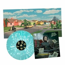 Edward Scissorhands Vinyl Record Soundtrack LP Ice Blue Snow Splatter Ar... - $77.90