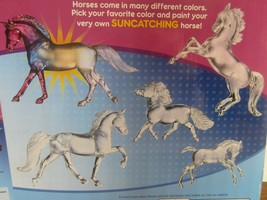BREYER HORSE  CREATE YOUR OWN PAINTING SUNCATCHER STABLEMATES KIT CRAFT4210 - $39.60