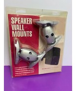 Sanus Systems Speaker Wall Mounts Silver Color Universal Tilt and Rotation - $6.79