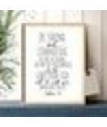 Bible Verse Joshua 1:9 Quotes Art Canvas Painting Picture Christian Nurs... - $31.82