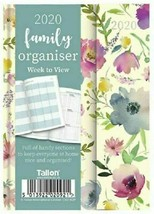 2020 A6 Week to View Family Organiser Planner Design Diary Office Home F... - $7.27