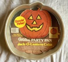 Wilton Jack O Lantern Pumpkin Cake Pan with Insert 802-2928 - $3.99
