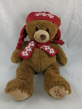 "Arizona Jeans Brown Teddy Bear Plush 14"" 2010 Stuffed Animal toy - $16.95"