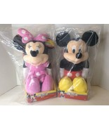 Just Play Disney Junior Mickey Minnie Mouse Clubhouse Plush Dolls Toys L... - $39.54