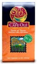 HEB Cafe Ole Whole Bean Coffee 12oz Bag (Pack of 3) (Decaf Taste of the Hill Cou - $46.50