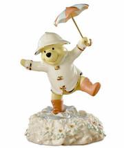 Lenox Pooh's Singing in the Rain Musical Figurine New - $48.90