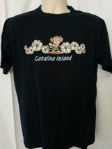 Catalina Island Surfing Monkey Mens Shirt Size M Medium - $1.99