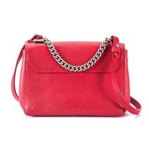 100% Authentic Louis Vuitton Red Rubis Lockme II BB Bag Receipt Mint image 6