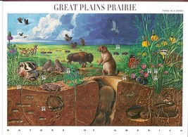 USA 2001 SC#3506, Great Plains Prairie, Stamps MNH VF Fast free shipping - $14.36