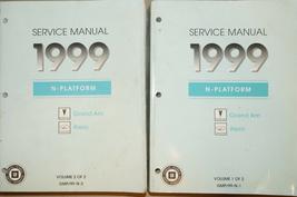 1999 Pontiac Grand Am Oldsmobile Alero Service Shop Reparatur Manuell Se... - $16.80