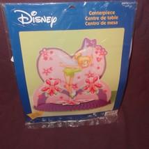 "New Tinkerbell Centerpiece Fairies Birthday Party Table Disney Hallmark 12"" Pink - $12.45"