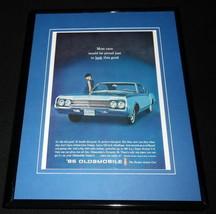 1965 Oldsmobile Dynamic 88 11x14 Framed ORIGINAL Vintage Advertisement - $44.54