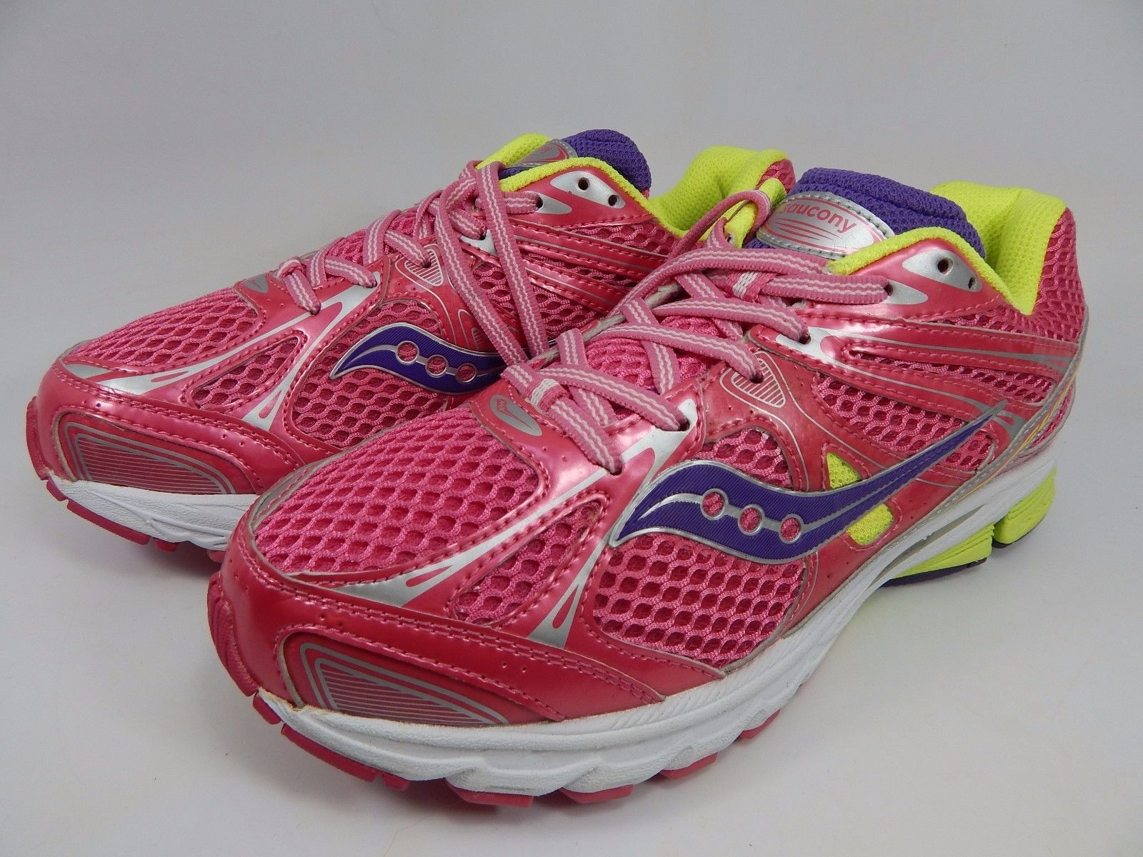 Saucony Guide 6 Girl's Youth Shoes Size US 6 B (6 Y) EU 38.5 Pink 80100-4