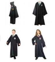 Harry Potter Kids Adult Robe Cloak Gryffindor/Slytherin/Hufflepuff/Raven... - $46.99