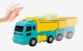 Zeus Toys Motion Sensor Melody Light Dump Truck Car Vehicle Toy image 2