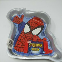Wilton SPIDERMAN CAKE PAN #2105-5052 Complete Insert/Instruction - $7.66