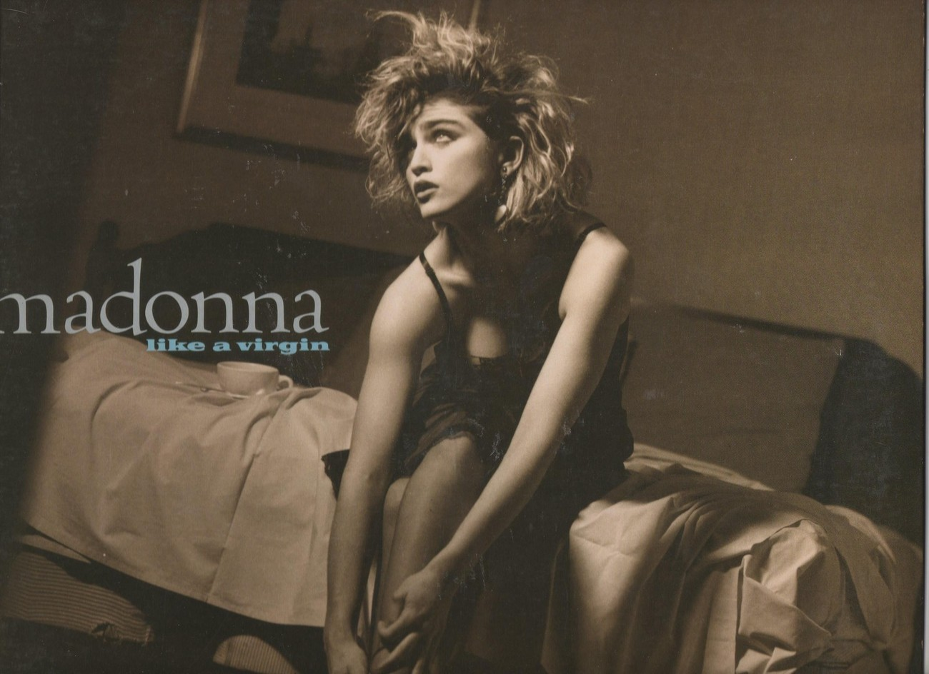 Madonna Like A Virgin Vinyl LP Original Pressing Sire Records 1984