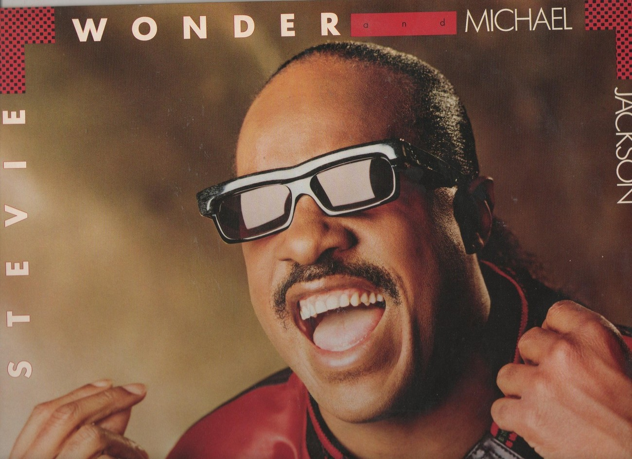 Stevie Wonder and Michael Jackson Get it Vinyl LP 1987