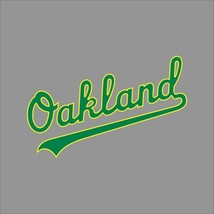 Oakland Athletics A's #4 MLB Team Pro Sports Vinyl Sticker Decal Car Window Wall - $4.46+