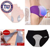Funcy Women Menstrual Period Briefs Leakproof Panties Postpartum Bleedin... - $25.83