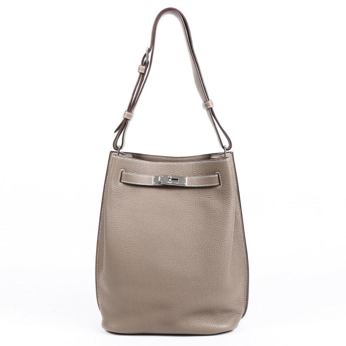 Hermes So Kelly 22 Togo Shoulder Bag
