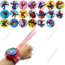 Spiderman Style Kids' Projector Digital Wrist Watch with Purse Wallet - $12.90